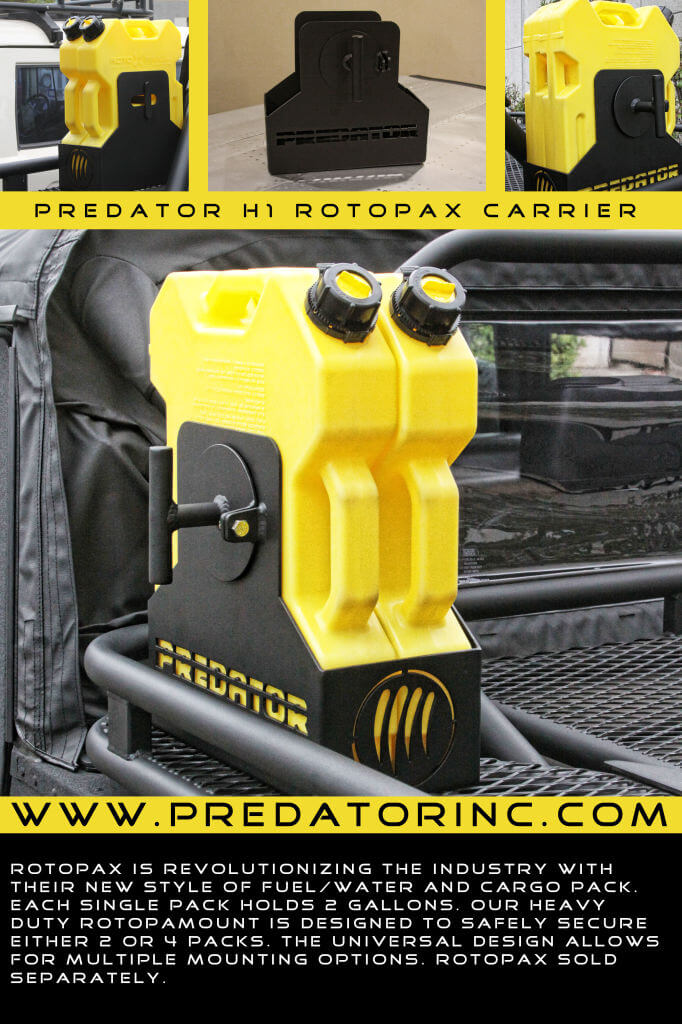 New Predator Rotopax Carrier